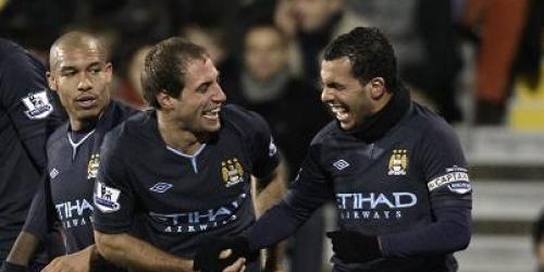 Con goles argentinos, Manchester City golea y es cuarto