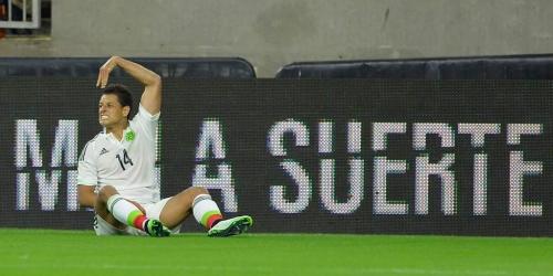 Copa de Oro, 'Chicharito' quedó fuera por lesión