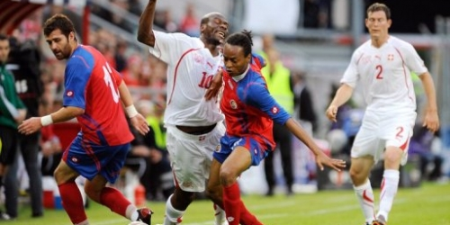 Costa Rica derrotó a la mundialista Suiza en gira europea