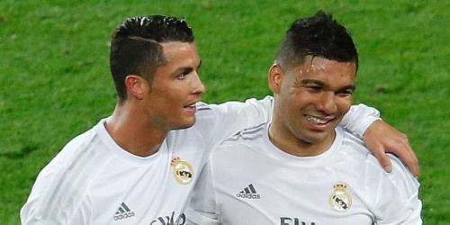 Cristiano Ronaldo y Casemiro no jugarán frente al Espanyol