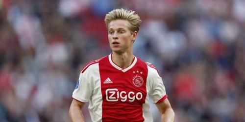 """De Jong, claro: """"Me quedo en el Ajax"""""""