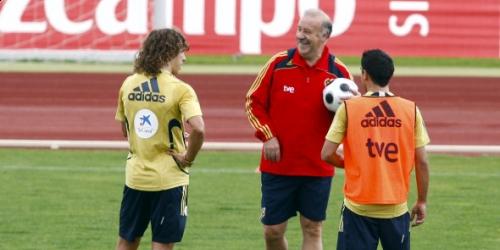 """Del Bosque: """"Deber cumplido en la preparación en Austria"""""""
