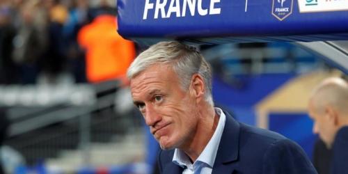 Deschamps molesto por falta de jugadores franceses en premios The Best