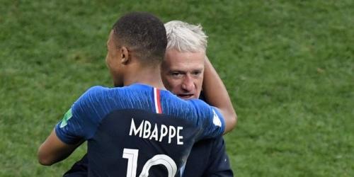 Deschamps pide el Balón de Oro para un francés
