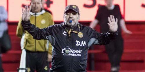 """Diego Maradona: """"Sí me gustaría dirigir a la selección mexicana"""""""