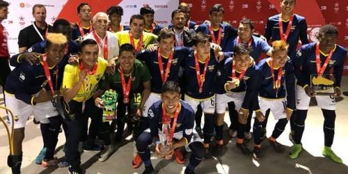 Ecuador campeón del mundo en Olimpiadas Especiales