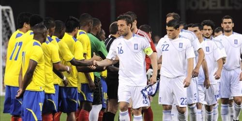 Ecuador y Grecia empatan 1-1 en partido amistoso