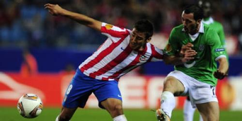 El Atlético gana con justicia y se mete en semifinales de Europa League