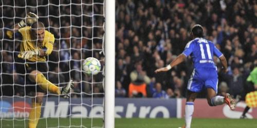 El Barcelona se estrella contra un Chelsea liderado por Drogba