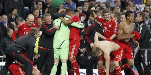 El Bayern fulmina en los penales el sueño del Real Madrid