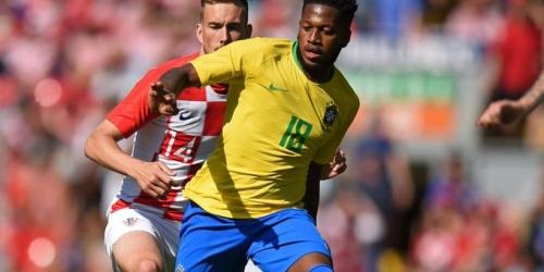 El brasileño Fred se lesiona durante entrenamiento previo al Mundial