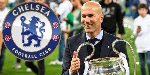 El Chelsea iría por Zidane para retener a Hazard