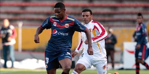 El Deportivo Quito derrotó al Azoátegui en el partido de ida