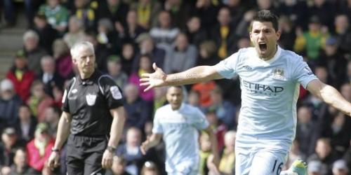 El Manchester City golea al Norwich y se acerca a la cima