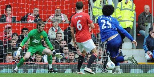 El Manchester United dejó escapar dos puntos ante el Everton
