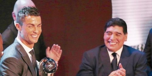 """""""El Maradona del siglo XXI"""" La otra cara de Cristiano"""