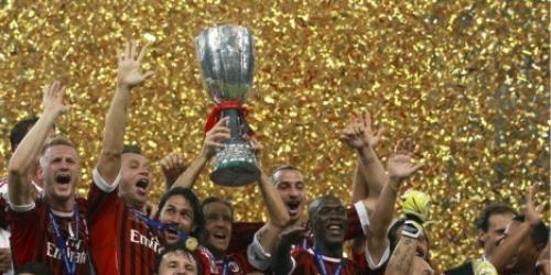 El Milan derrotó al Inter y ganó la Supercopa de Italia