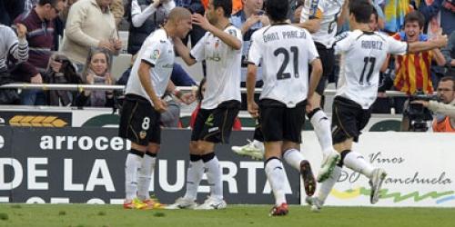 El Valencia alcanza las semifinales de la Europa League