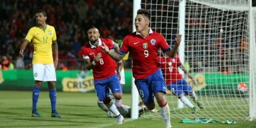 Eliminatorias, Chile sorprendió y venció a Brasil 2-0 (VIDEO)