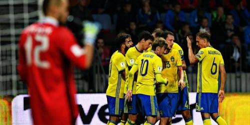 Eliminatorias UEFA, Suecia gana y está cada vez más cerca del mundial