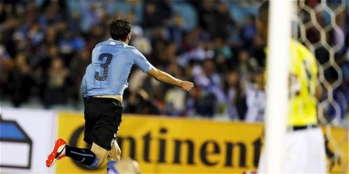 Eliminatorias, Uruguay goleó 3-0 a Colombia (VIDEO)