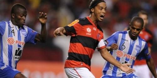 Emelec derrotó a Flamengo en el último minuto por la Copa Libertadores