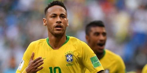 Empieza la era de Neymar como capitán de Brasil