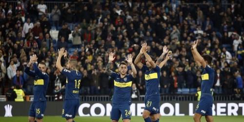 Entretiempo en el Bernabéu, Boca saca ventaja