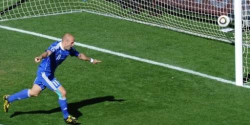 Eslovaquia y Nueva Zelanda empatan 1-1 en el Grupo F