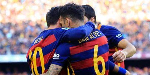 España, Barcelona único líder de la Liga (VIDEO)