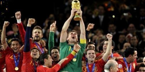 España destrona a Brasil como mejor selección del Mundo