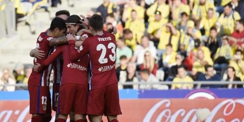 España, el Atlético sigue en lo más alto (RESUMEN)