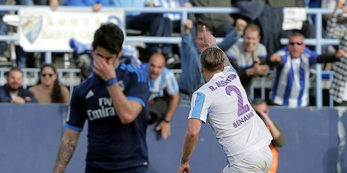 (VIDEO) España, el Real Madrid no puede con el Málaga