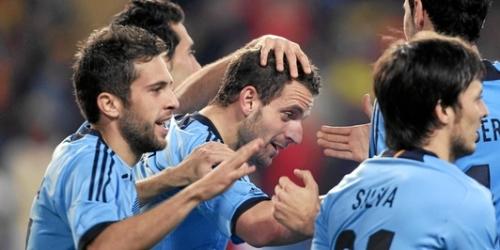 España goleó a Venezuela en partido de preparación