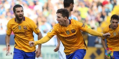 España, Messi regala la victoria al Barça (VIDEO)