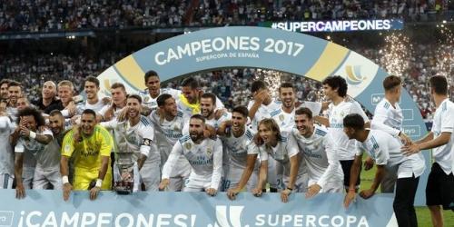 España, Real Madrid campeón de la Supercopa