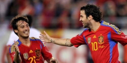 España remontó a Chile en partido de exhibición