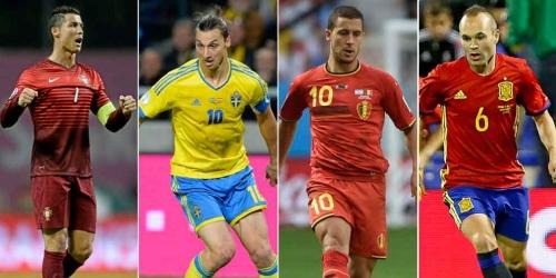 Eurocopa, revisa los dorsales de los 552 jugadores convocados