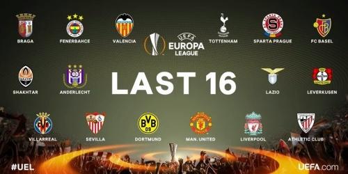 (RESUMEN) Europa League, resultados y clasificados a los Octavos de Final