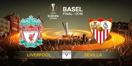 Europa League, Sevilla y Liverpool jugarán la final de Basilea