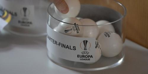 Europa League, terminó el sorteo de los Cuartos de Final y así quedaron las llaves