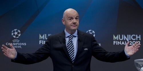 FIFA, Infantino será candidato para la presidencia