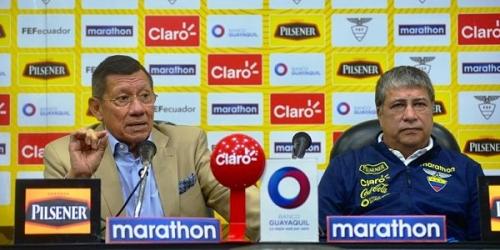 (FOTO) La selección de Ecuador presenta su lista de convocados