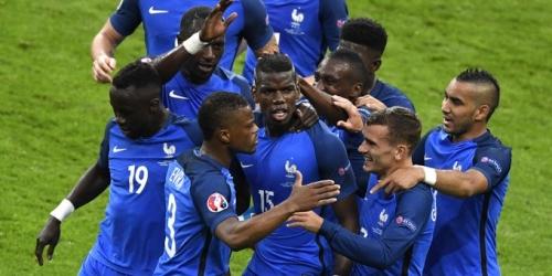 (VIDEO) Eurocopa, Francia goleó a Islandia y va por Alemania en semifinales