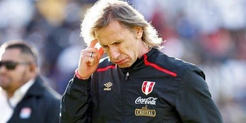 Gareca cumplió 50 partidos con la selección de Perú