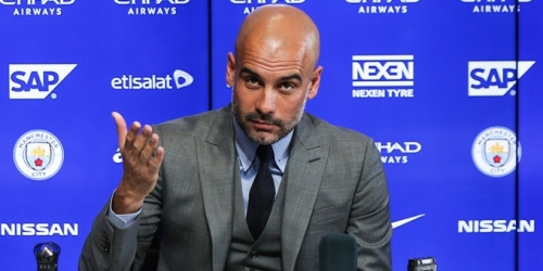 """Guardiola: """"No vamos a fichar en invierno"""""""