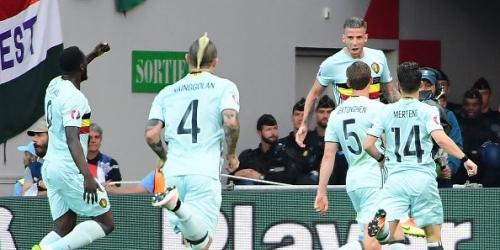 (VIDEO) Eurocopa, Bélgica aplastó 4-0 a Hungría y clasificó a los Cuartos de Final