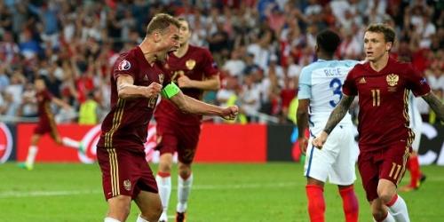 (VIDEO) Eurocopa, Rusia empató en el último minuto frente a Inglaterra