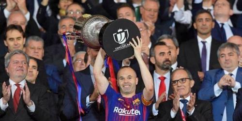 """Iniesta: """"Patrimonio del fútbol mundial"""""""