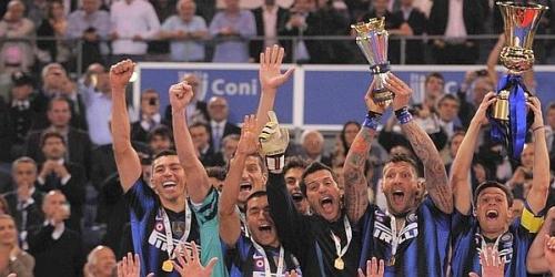 Inter derrota a Palermo y es campeón de la Copa Italia
